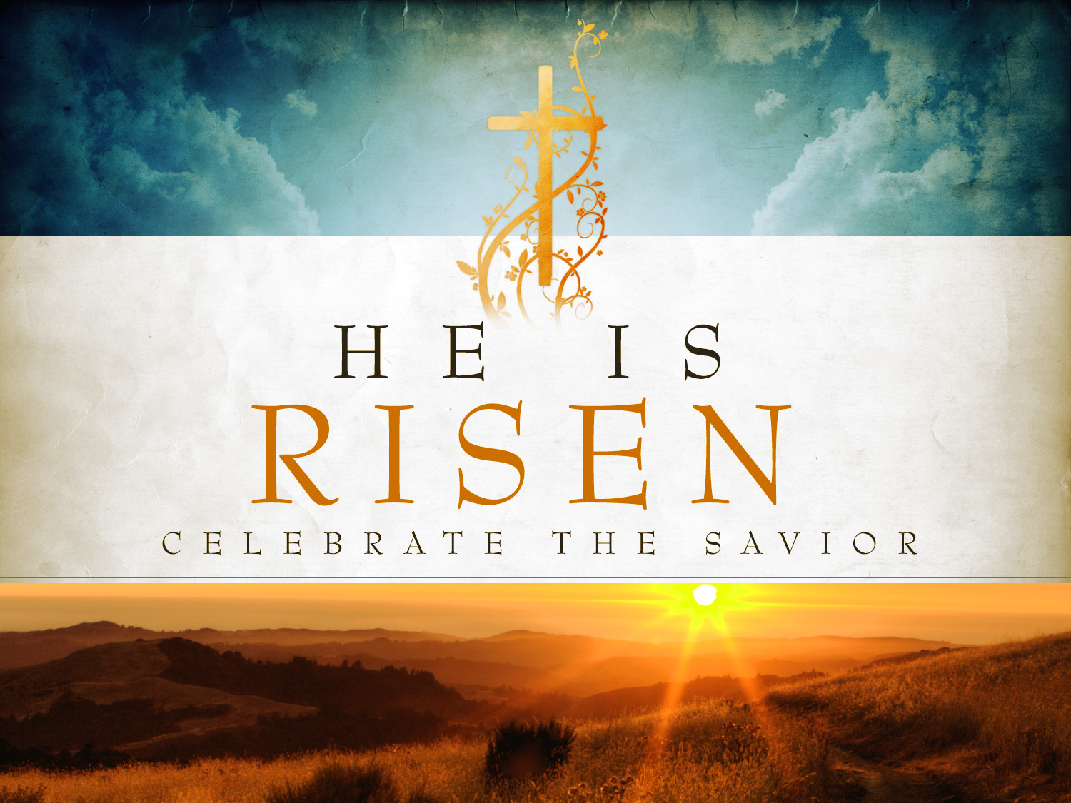 Easter 2014 Worship Schedule